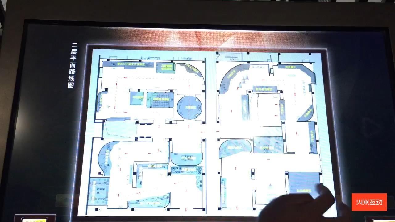 名人馆展厅导览系统